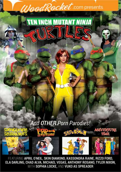 Ten Inch Mutant Ninja Turtles and Other Porn Parodies [DVDRip] [Wood Rocket]