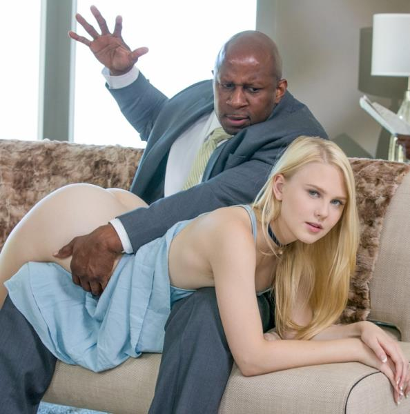 Blacked.com - Lily Rader - Young Girl Tries Threesomes with Two BBC [FullHD 1080p]