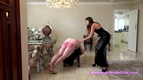AmericanMeanGirls.com [Princess Beverly - Caning Chore Chart Episode 4] FullHD, 1080p