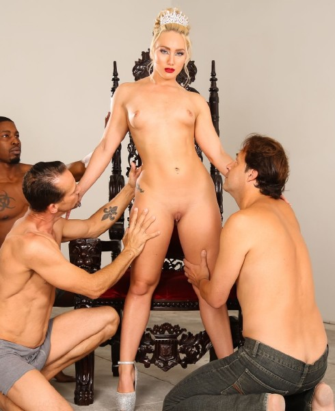 Evilangel.com - AJ Applegate - Squirt Queens Sloppy IR Gang Bang [FullHD 1080p]