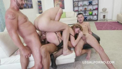 LegalPorno.com [5on1 Luca Bella - No Pussy /DAP /TP /MANHANDLE /BALL DEEP /GAPES New Milf Joins The Airline GIO249] SD, 480p
