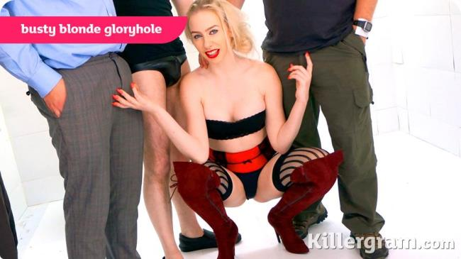 GloryHoleGaggers: Grace Harper - Busty Blonde Gloryhole (HD/2016)