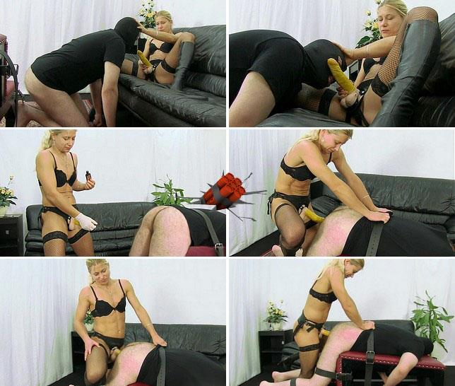 Extreme Stimulation - Lady Zita - Lady Zita making him a bitch [HD 720p]