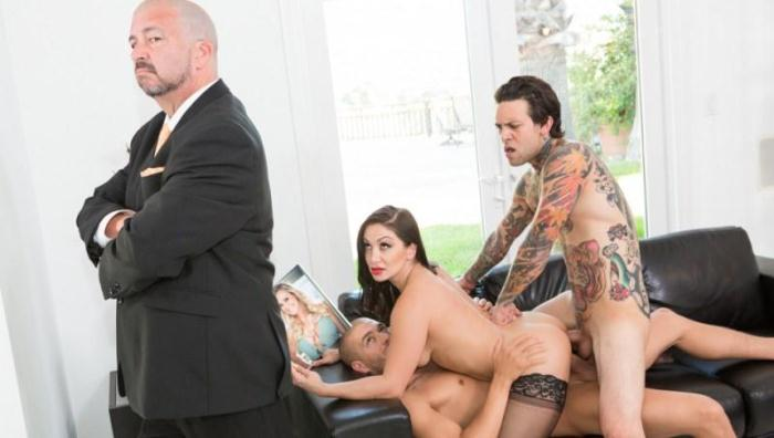Pr3ttyD1rty.com - Lea Lexis, Xander Corvus, Small Hands, James Bartholet - The DP Brothers (Group sex) [SD, 544p]
