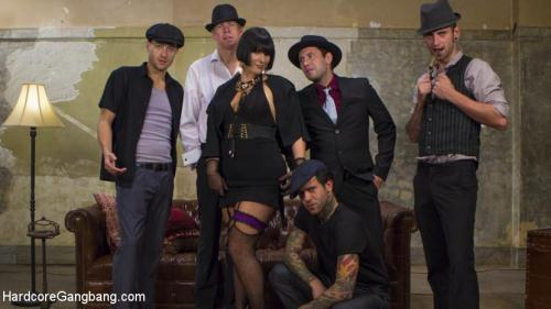 Rose Rhapsody - Agent Airtight: Slutty Fed Takes Five Hard Cocks In All Her Holes [SD, 360p] [H4rdc0r3G4ngB4ng.com] - BDSM, Gangbang