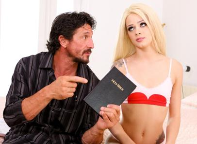 Pr3ttyD1rty.com - Elsa Jean, Tommy Gunn - Possessed By Pleasure (Teen) [SD, 544p]