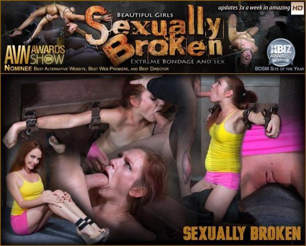 Kassondra Raine Face Fucked, Vibrated on Sybian, and Made to Cum! - SexuallyBroken.com (HD, 720p) [BDSM, Bondage, Blowjob, Milf]
