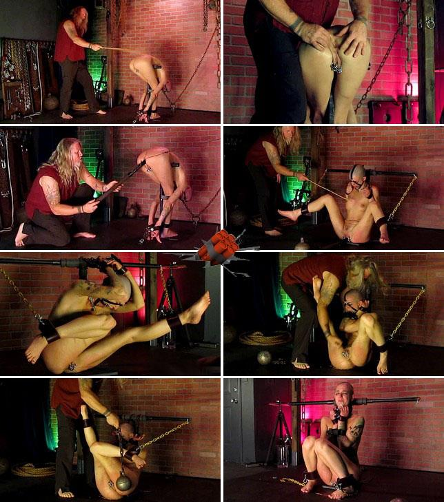 Sadistic Room - Amateur - ainful torture and hooks for helpless bound slave girl [HD 720p]