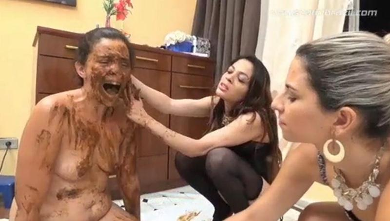 Eat Our Shit Bitch - Group scat porn [Scat In Brazil / HD]