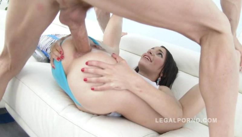 Sophia Laure oiled up & DAP'ed SZ1459 [LegalPorno / SD]
