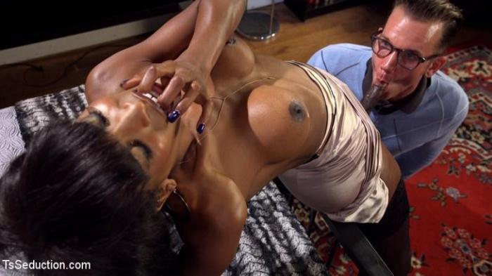 TSS3duct10n.com - Natassia Dreams, Will Havoc - Hardcore with Black Tranny (Shemale) [HD, 720p]