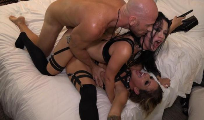 SinsLife.com - Kissa Sins, Katrina Jade - Double KatrinaPie (Group sex) [SD, 480p]