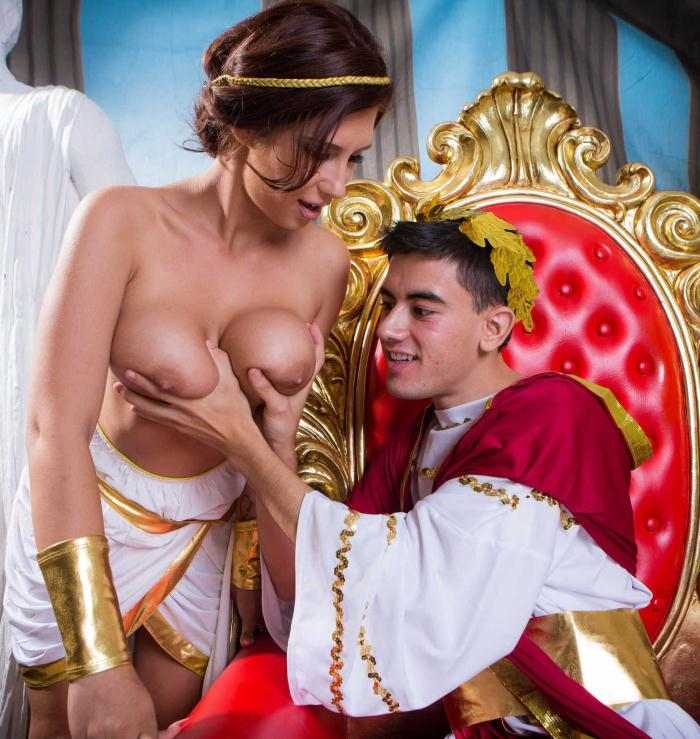 BigTitsAtSchool/BraZZers: Ayda Swinger - Big Tits In History: Part 2  [HD 720p]  (Big Tits)