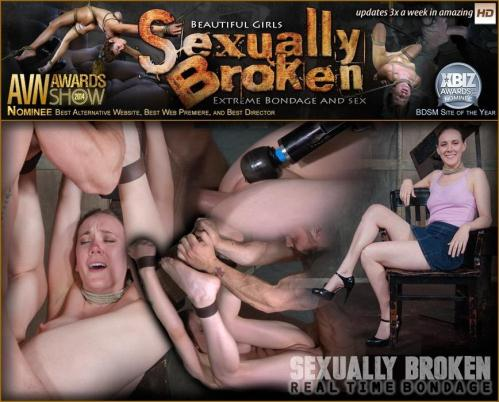 SexuallyBroken.com/RealTimeBondage.com [Sierra Cirque, Matt Williams, Sergeant Miles - Sierra Cirque Fucked and Vibrated While Having Violent Orgasms!] SD, 540p