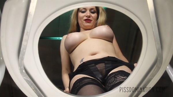 Exclusive Pissing - Aiden Starr - Aiden Starr Puts Her Toilet Slave in His Place [FullHD 1080p]
