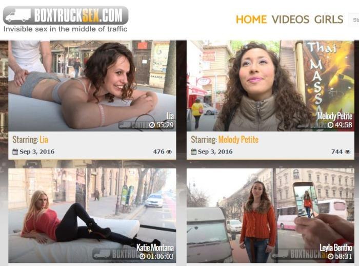 BoxTruckSex - Ayda Swinger, Dorothy Black, Aurelly Rebel, Summer Day, Taissia Shanti, Lia, Melody Petite, Veronica Morre, Leyla Bentho, Kira Queen, Kayla Green, Christen Courtney, Frida Sante - Collection BoxTruckSex SiteRip (17 Clips)  (720p / HD)