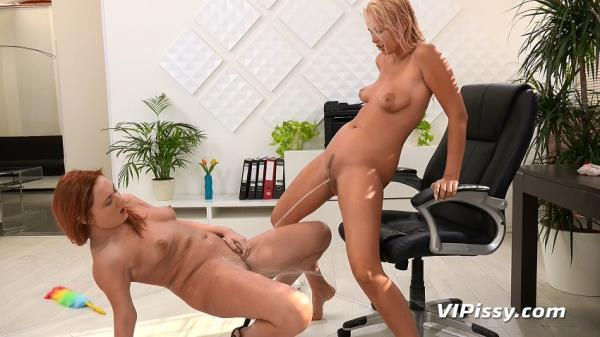 Eva Berger, Nikki Dream Cleaning Lady [VIP Pissy 720p]