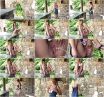One legged waterfall [FullHD, 1080p] [G2P] - Pissing