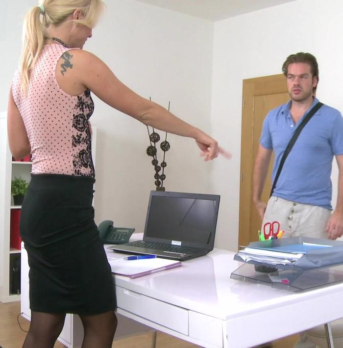 FemaleAgent: Cristal Caitlin, Ryan - British Stud in Perfect Casting  [HD 720p]  (Casting)