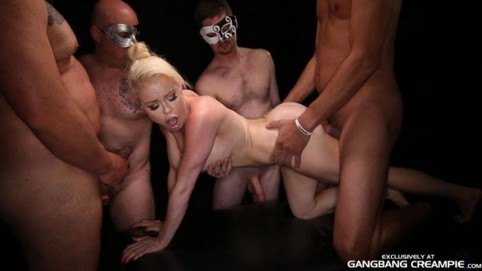 GangbangCreampie.com - Nikki Delano - Gangbang Creampie 74 (Group sex) [SD, 400p]