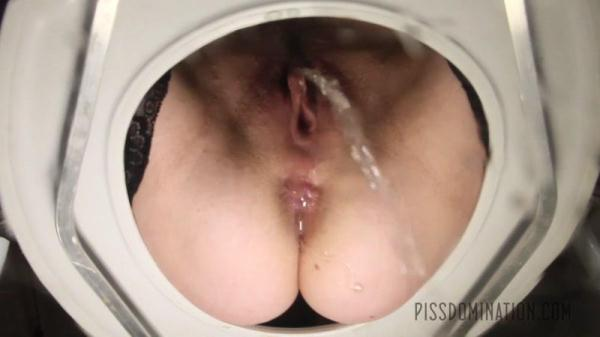Aiden Starr Puts Her Toilet Slave in His Place (FullHD 1080p)