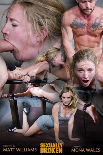 Mona Wales, Matt Williams, Sergeant Miles - Sexy Pale and Slim Mona Wales Gets Pounded By Two Cocks in Fighter Jet Position! (SexuallyBroken) [HD 720p]