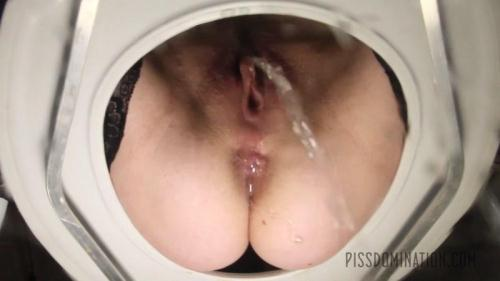 PissDomination.com [Aiden Starr Puts Her Toilet Slave in His Place] FullHD, 1080p