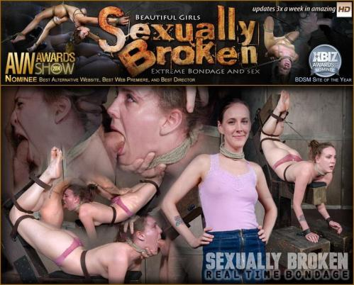 SexuallyBroken.com/RealTimeBondage.com [Sierra Cirque Face Fucked In Extreme Bondage!] HD, 720p