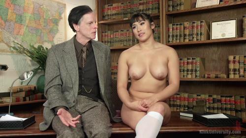 KinkUniversity.com/Kink.com [Mia Li - Oral Sex Taste Test] HD, 720p