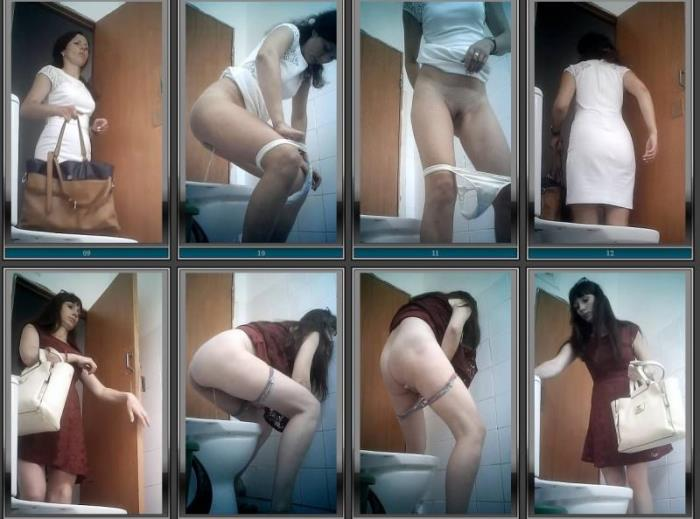 Pisswc.com - Amateur - Hidden camera in the women's restroom ! [HD 1280p]