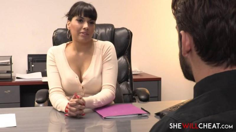 SheWillSheat.com: Mercedes Carrera fucks her personal assistant [SD] (416 MB)