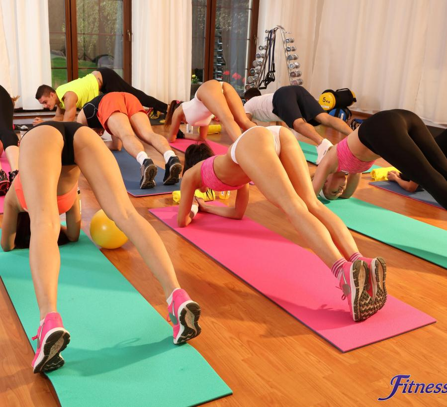 Fitnessrooms barbara bieber has a sexual workout after gym - 3 part 2