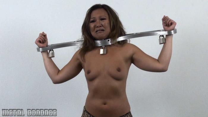 MetalBondage.com - Miu - Miu gets emotional in a RigidStock [HD 720p]