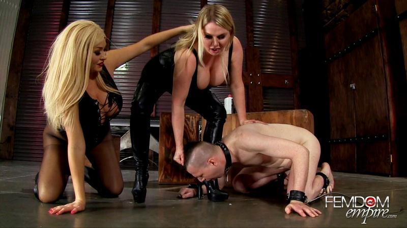 Filthy Boot Fucker (Foot Fetish / August 2016) [FemdomEmpire / FullHD]