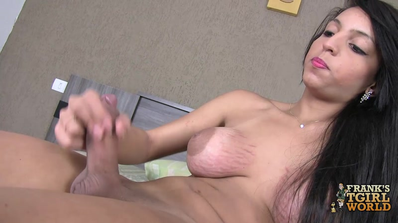 Marcela Almeida with her dick (01 Sep 2016) [Franks-Tgirlworld / HD]