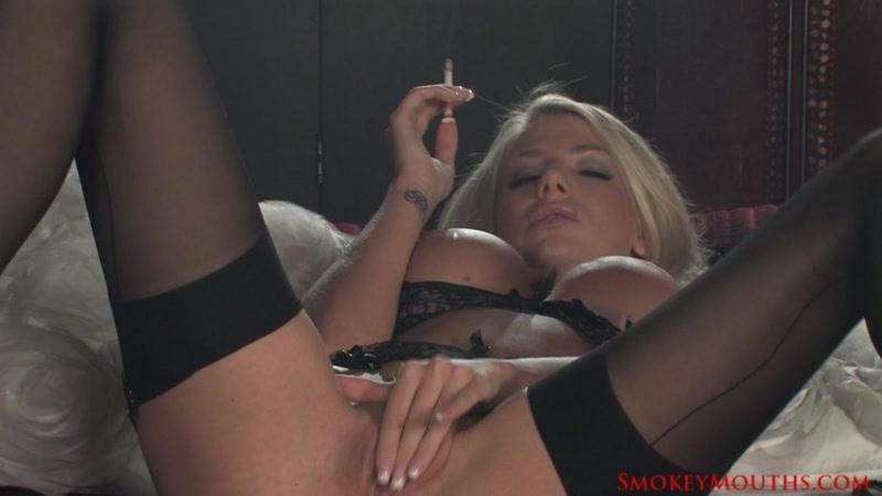 Danielle Maye Smoking Masturbation her Wet Pussy [SmokeyMouths, HardGlam / HD]