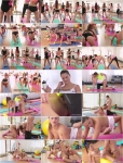 Barbara Bieber - Sweaty Workout After Class [SD 480p]