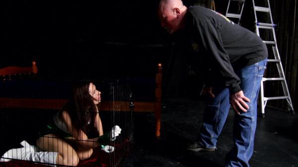 Amateur - Submission and forced orgasms of helpless bound slut (Sadism Bondage) [FullHD 1080p]