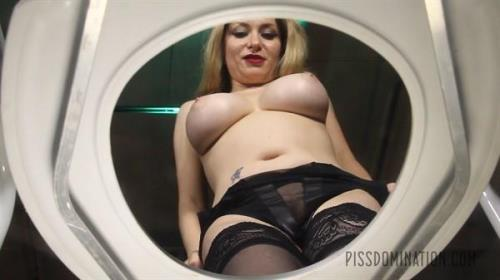 Aiden Starr - Aiden Starr Puts Her Toilet Slave in His Place (Exclusive Pissing) [FullHD 1080p]