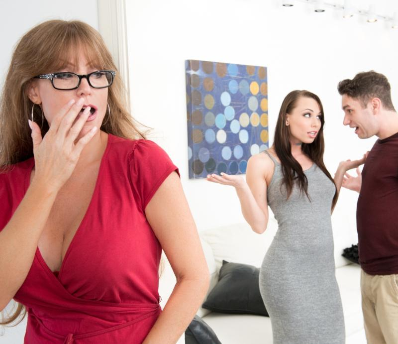 MommyBlowsBest/MyXXXPass - Darla Crane [Busting on my girls mom] (HD 720p)
