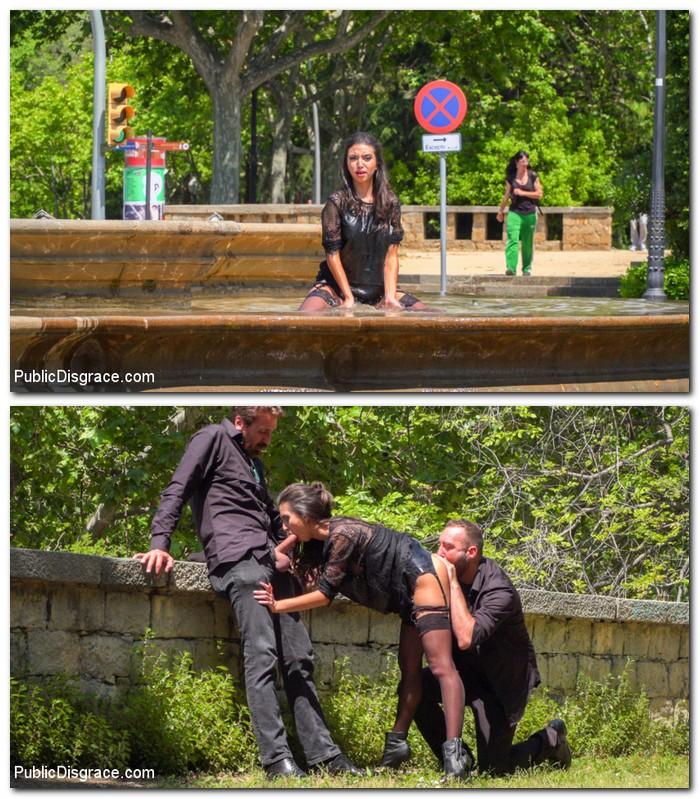 PublicDisgrace/Kink: Frida Sante - Spanish Slut Frida Sante Fucked Outdoors  [HD 720p] (785 MiB)
