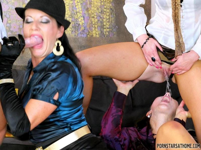 Celine Noiret, Gabrielle Gucci, Valentina Ross - Gourmet Piss Bang - Part 2 [Tainster / HD]
