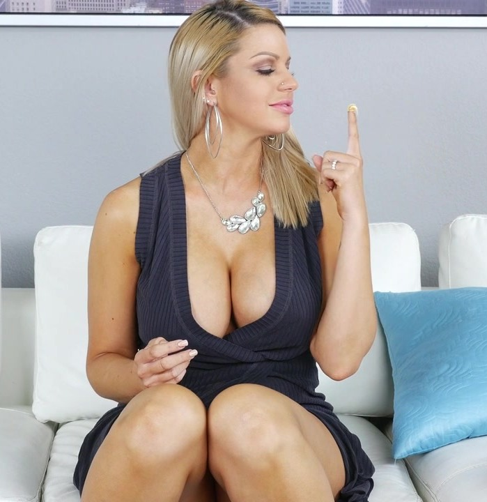 MrsCreampie - Brooklyn Chase in I Like My Donuts Filled With Cream (HD 720p)