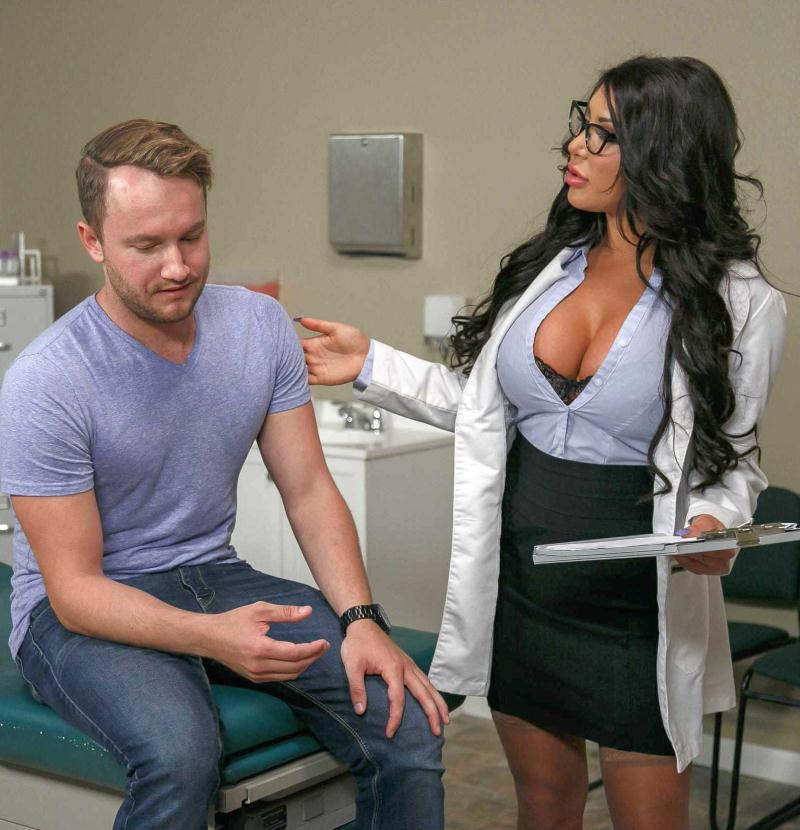 DoctorAdventures/Brazzers - August Taylor [Dr. Taylor Takes Her Medicine] (HD 720p)