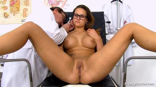 ExclusiveClub.com/FreakyDoctor.com [Barbara Bieber - 24 years girls gyno exam] HD, 720p
