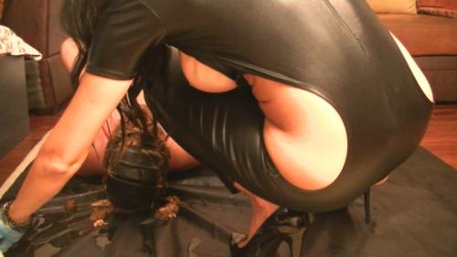 Scat [Hard toilet training by new Goddess - Femdom] FullHD, 1080p