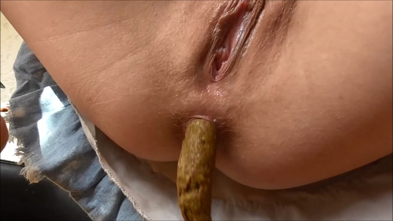 Shitting High resolution close up - Solo (SCAT / 08 Sep 2016) [FullHD]