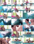 Inga Devil, Alex - European brunette banged by the pool in hardcore adventure [480p]