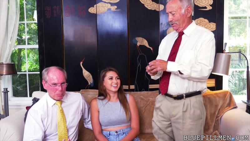 Ivy Rose impresses with her big tits and ass (Old and Young / 09.09.2016) [BluePillMen / SD]