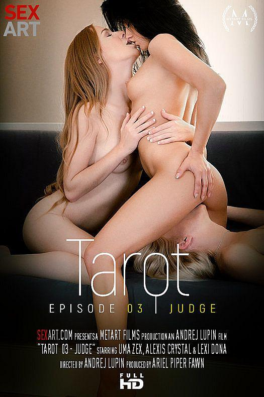 S3x4rt.com/M3t4rt.com - Alexis Crystal & Lexie Dona & Uma - Tarot Part 3 - Judge (Lesbians, Teen) [SD, 360p]